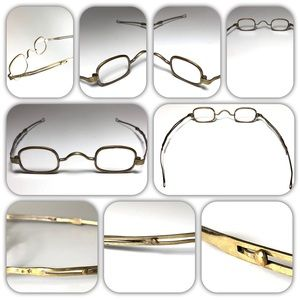 1800's Pre Civil War Era Antique Reading Glasses